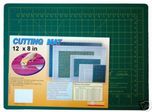 "Cutting Mat 12"" x 9"" TOP QUALITY- BLB518"